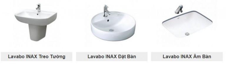 chọn mua lavabo inax tại đại lý inax Tuấn Đức